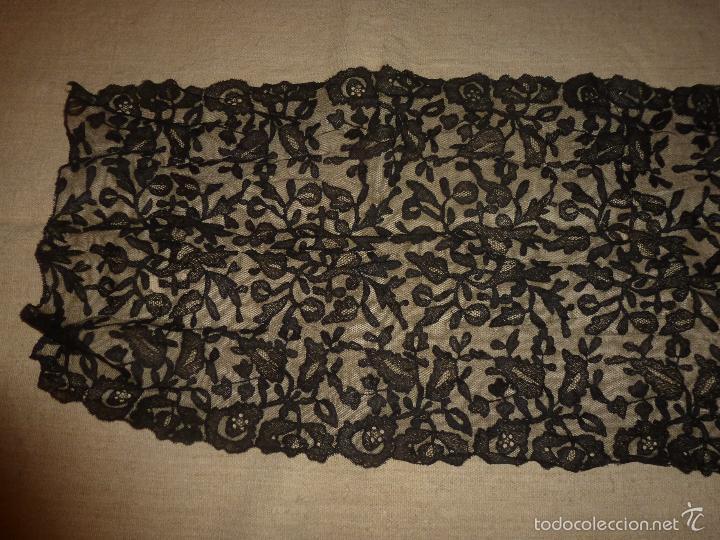 Antigüedades: mantilla negra - Foto 13 - 56752922