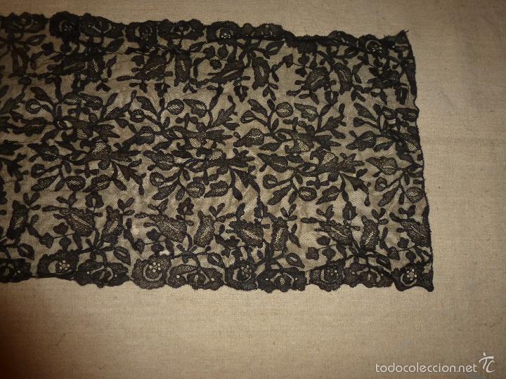 Antigüedades: mantilla negra - Foto 15 - 56752922