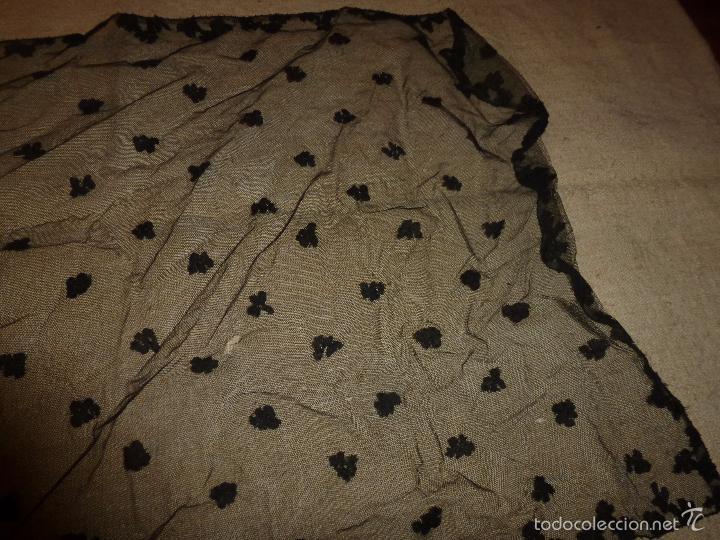 Antigüedades: mantilla negra - Foto 2 - 56753095