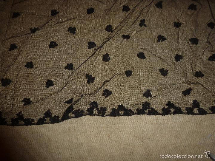 Antigüedades: mantilla negra - Foto 3 - 56753095