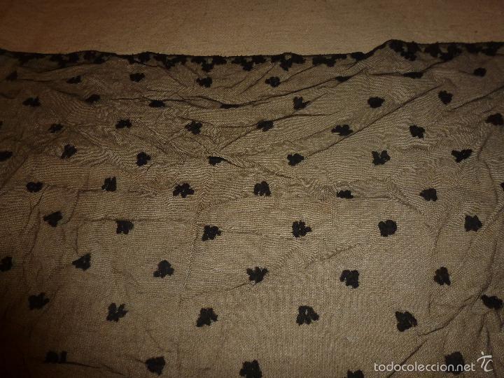 Antigüedades: mantilla negra - Foto 4 - 56753095
