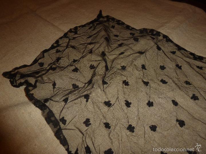 Antigüedades: mantilla negra - Foto 5 - 56753095