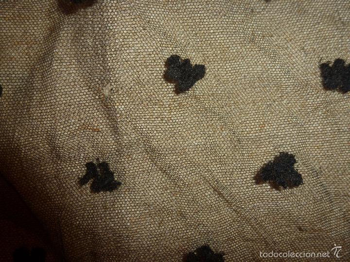 Antigüedades: mantilla negra - Foto 7 - 56753095