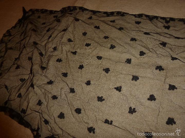 Antigüedades: mantilla negra - Foto 8 - 56753095