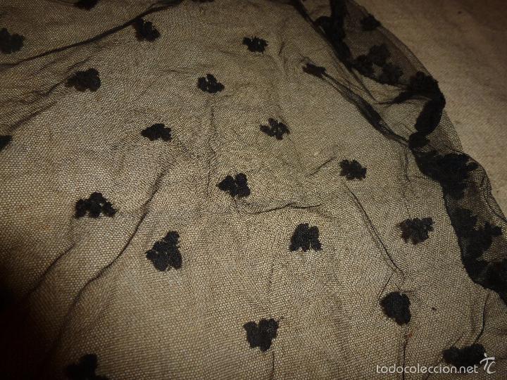 Antigüedades: mantilla negra - Foto 9 - 56753095