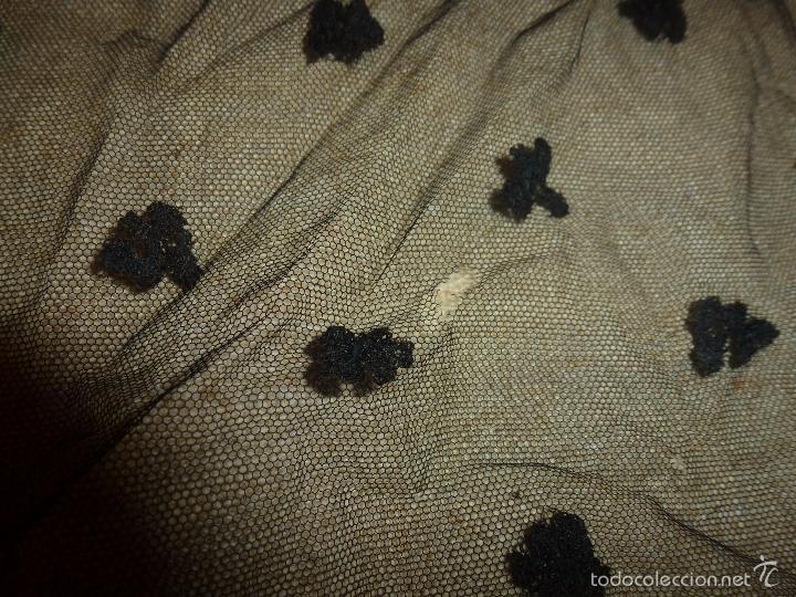 Antigüedades: mantilla negra - Foto 10 - 56753095