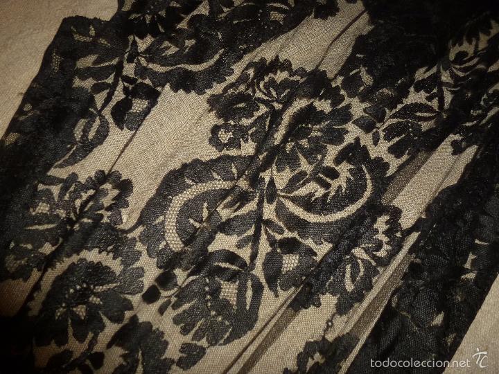Antigüedades: MANTILLA NEGRA - Foto 5 - 56762763