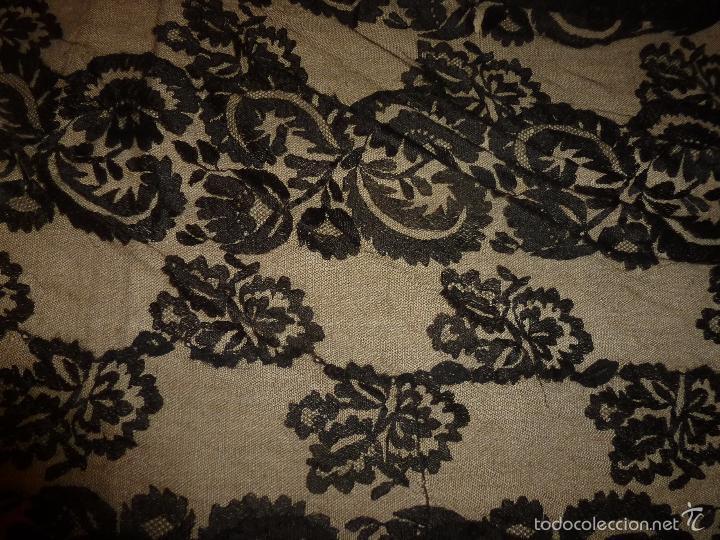 Antigüedades: MANTILLA NEGRA - Foto 8 - 56762763