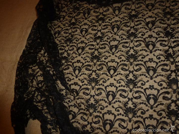 Antigüedades: MANTILLA NEGRA - Foto 3 - 56764119