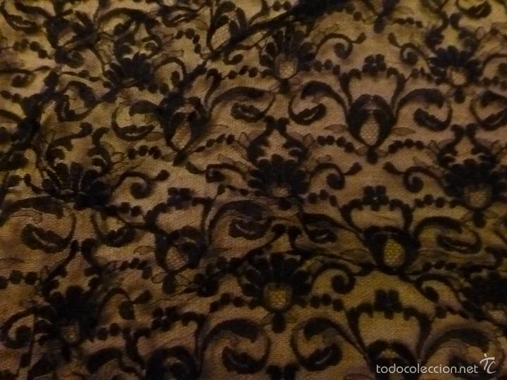Antigüedades: MANTILLA NEGRA - Foto 14 - 56764119