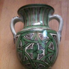 Antigüedades: JARRON REF,Nº21,DOMINGO PUNTER,17 CM. Lote 56795819