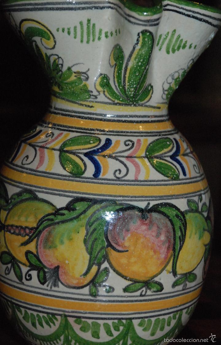 Antigüedades: ANTIGUA JARRA DE CERÁMICA PUENTE DEL ARZOBISPO - Foto 7 - 56800921