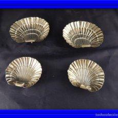 Antigüedades: CONCHAS DE PLATA CUÑO ESTRELLA. Lote 56830117