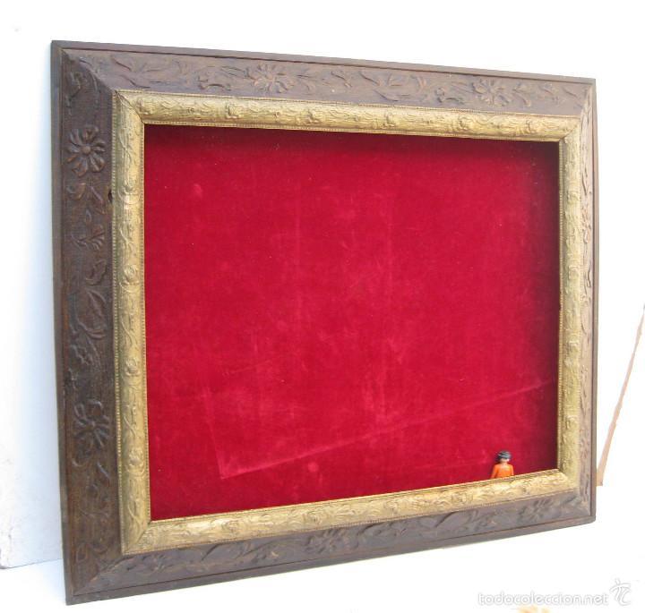 cuadro marco circa 1920 madera ideal expositor - Comprar Marcos ...