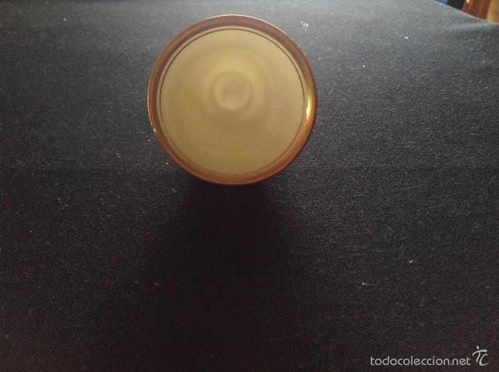Antigüedades: Taza con plato de café y cuenco de porcelana muy fina, antigua de plata de ley. - Foto 8 - 56845150