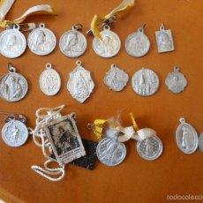 Antigüedades: LOTE MEDALLAS RELIGIOSAS. Lote 56849776
