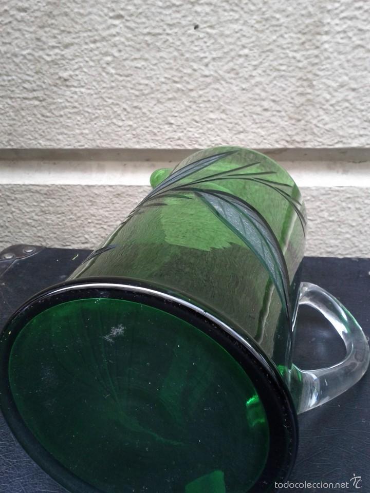 Antigüedades: Jarra de cristal tallado hacia 1940 50 - Foto 5 - 56856911