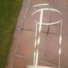 Antigüedades: PALANGANERO ANTIGUO DE FORJA. Lote 56860914