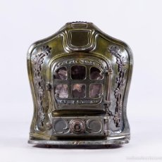 Antigüedades: ESTUFA ANTIGUA GODIN FLORAL. Lote 56868244