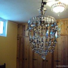 Antigüedades: ANTIQUISIMA Y EXCPCIONAL LAMPARA. Lote 56871640