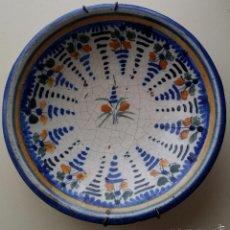 Antigüedades: PLATO DE CERAMICA DE TALAVERA S XIX. Lote 56883208