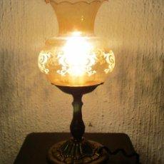 Antigüedades: LAMPARA DE MESA, MESILLA, ETC. Lote 173913577