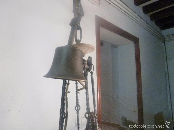 Antigüedades: lampara de bronce y tulipas - Foto 8 - 56891879