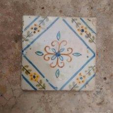 Antigüedades: AZULEJO BALDOSA DEL XIX. Lote 56892475