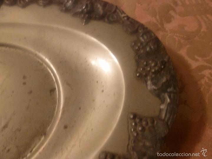 Antigüedades: bandeja de metal ingles - Foto 7 - 56892946