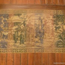 Antigüedades: TAPIZ ALARGADO 60*105CM. Lote 56899943