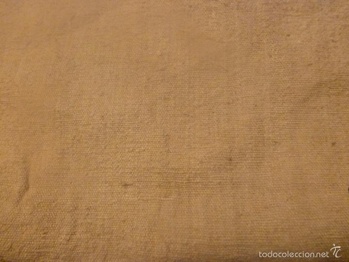 Antigüedades: sabana de lino grueso antigua - Foto 2 - 56900315