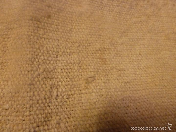 Antigüedades: sabana de lino grueso antigua - Foto 3 - 56900315