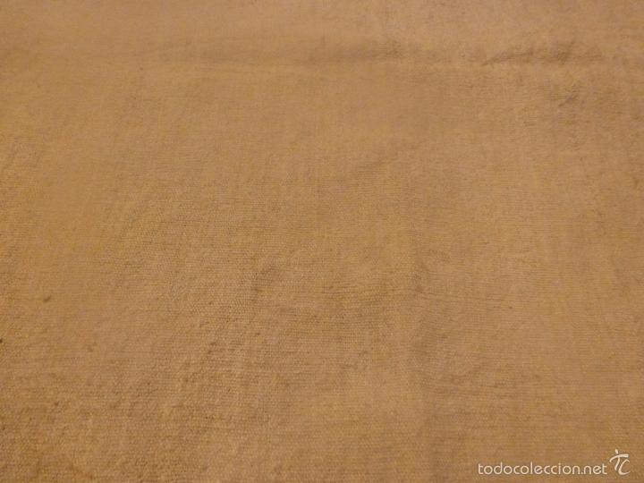 Antigüedades: sabana de lino grueso antigua - Foto 4 - 56900315