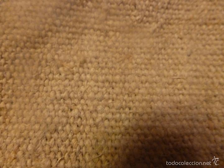 Antigüedades: sabana de lino grueso antigua - Foto 5 - 56900315