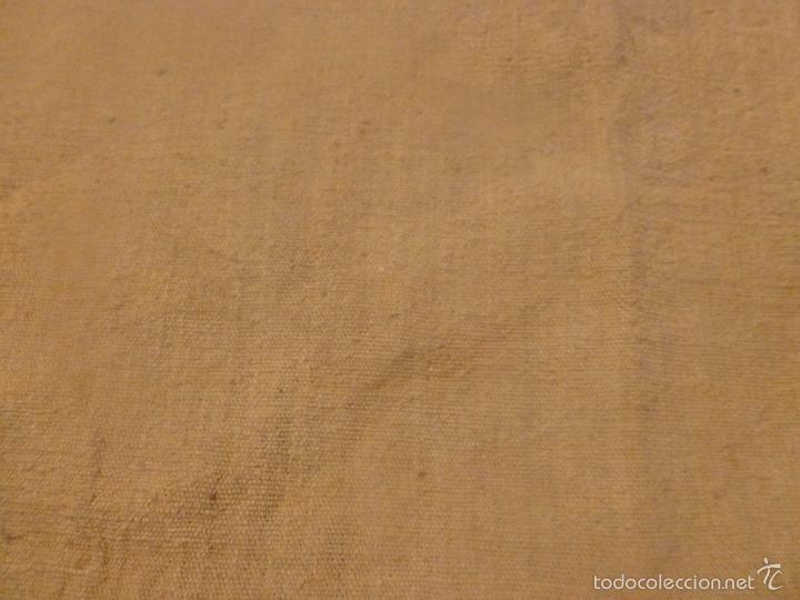Antigüedades: sabana de lino grueso antigua - Foto 6 - 56900315