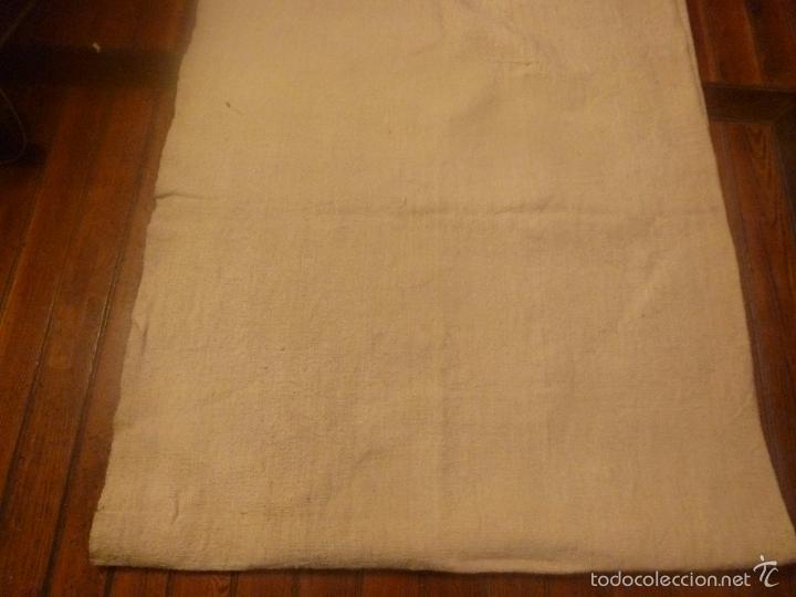 Antigüedades: sabana de lino grueso antigua - Foto 7 - 56900315