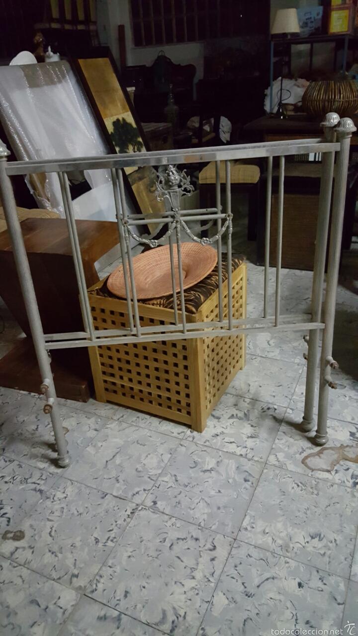ANTIGUA CAMA DE METAL DE 90CM (Antigüedades - Muebles Antiguos - Camas Antiguas)