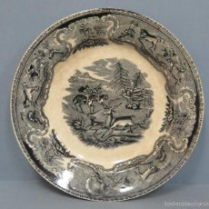 Antigüedades: ANTIGUO PLATO DE CARTAGENA. SIGLO XIX. Lote 56930361