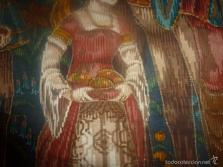 Antigüedades: TAPIZ MEDIEVAL - Foto 3 - 56934021