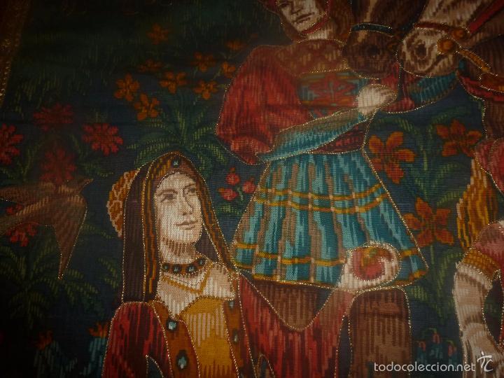 Antigüedades: TAPIZ MEDIEVAL - Foto 4 - 56934021