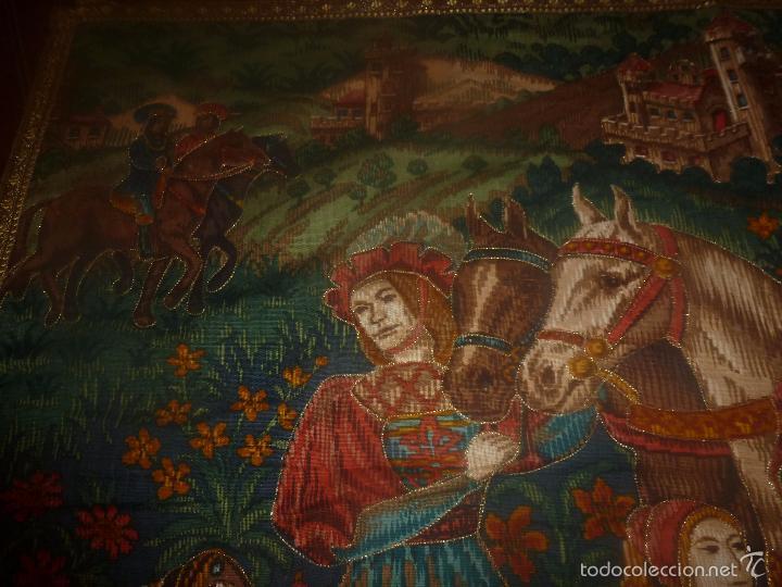 Antigüedades: TAPIZ MEDIEVAL - Foto 7 - 56934021