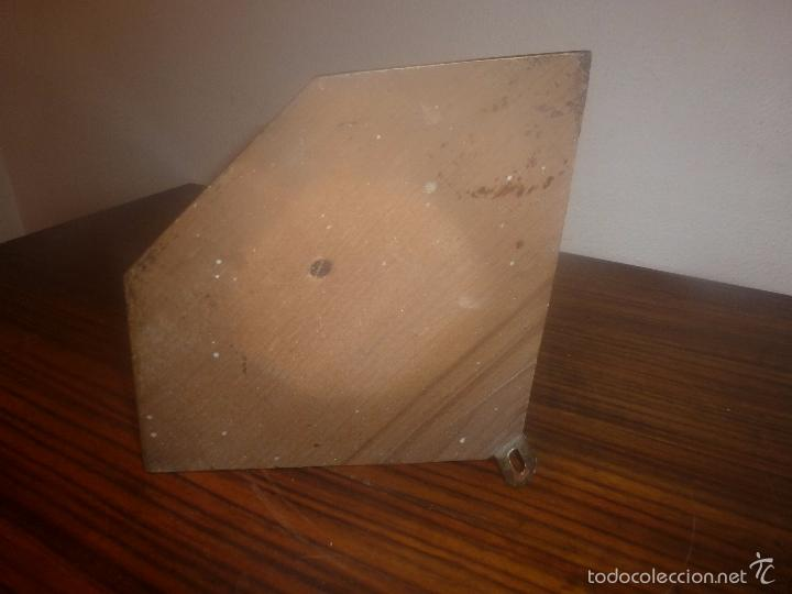 Antigüedades: RINCONERA PARA SANTO DE MADERA DORADA - Foto 8 - 56934628