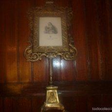 Antigüedades: MARCO DE BRONCE PARA SACRAS. Lote 56934810