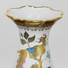 Antiquitäten - JARRON DE PORCELANA ESMALTADA. BOHEMIA. PORCELANAS SNEROLL. CIRCA 1950. - 56937241