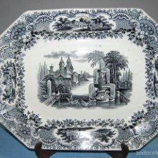 Antigüedades: ANTIGUA BANDEJA PICKMAN CARTUJA CON SELLO ESTAMPADO DE 1870 A 1899. Lote 56943287
