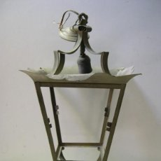 Antigüedades: ANTIGUO FAROL DE LATA. Lote 56943789