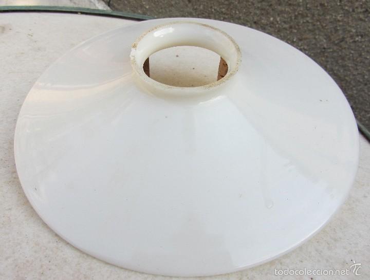 opalina de blanca pantalla c1930 lámpara de 29WIEDHY