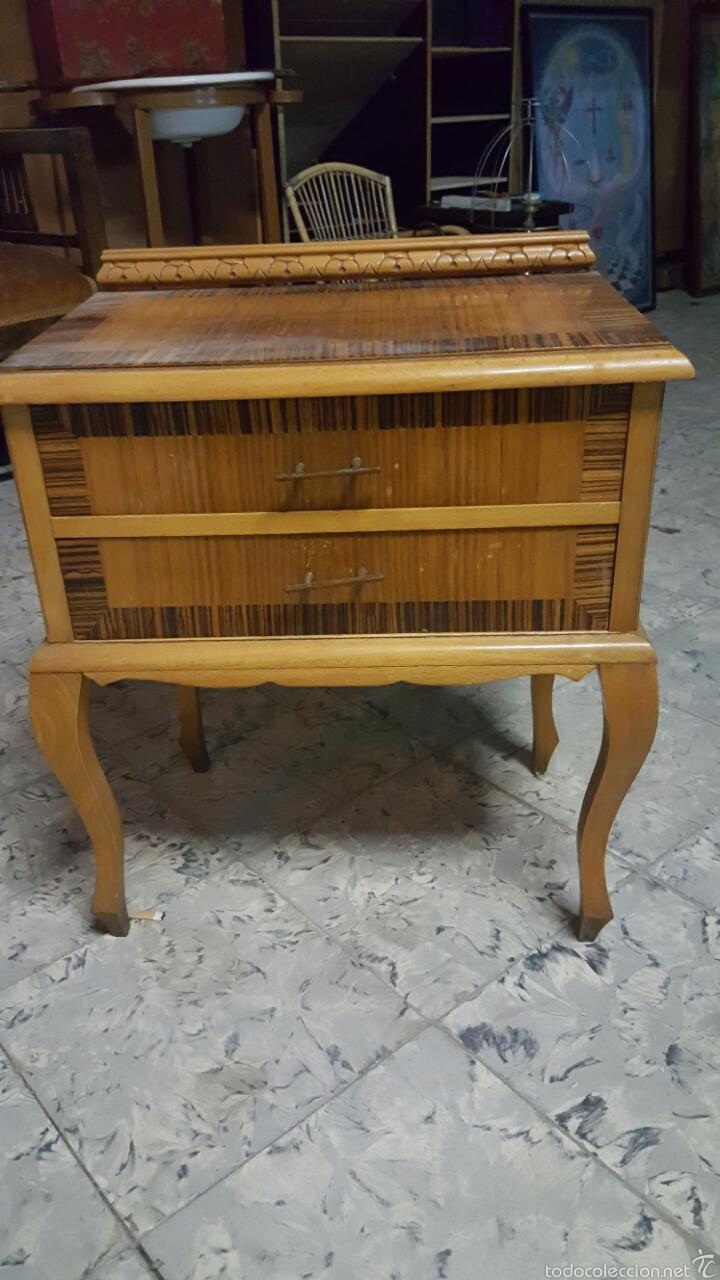 MESITA DE NOCHE (Antigüedades - Muebles Antiguos - Auxiliares Antiguos)