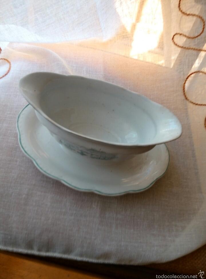 Antigüedades: SALSERA CHINA OPACA IT SANTANDER - Foto 2 - 56953558