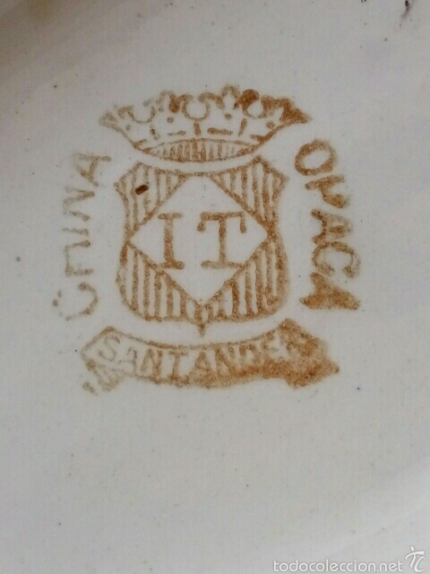 Antigüedades: SALSERA CHINA OPACA IT SANTANDER - Foto 5 - 56953558